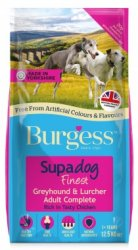 Burgess Supadog Greyhound & Lurcher Rich in Chicken 12.5KG