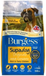 Burgess Supadog Adult Dog Food Rich in Chicken 15KG