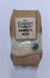 Country Products Basmati White Rice 500g