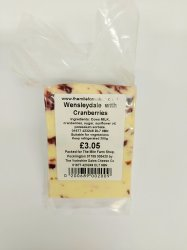 Yorkshire Dales Cheese Co Wensleydale with Cranberries 200g
