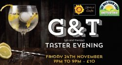 Gin and Therapy Taster Evening