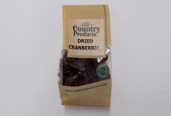 Country Products Dried Cranberries 150g