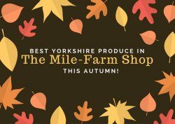 Autumn's best Yorkshire produce