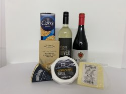 Yorkshire Cheese and Wine Bundle