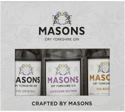 Masons Gin Selection 3 x 5cl