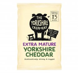 The Yorkshire Creamery Extra Mature Yorkshire Cheddar Cheese 200g