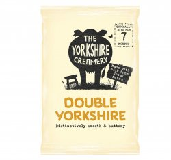 The Yorkshire Creamery Double Yorkshire Cheese 200g