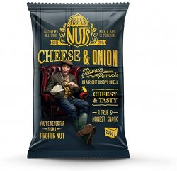 Proper Nuts Cheese & Onion 200g