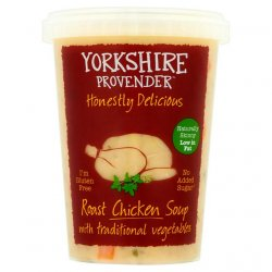 Yorkshire Provender Roast Chicken Soup with Vegetables 600g