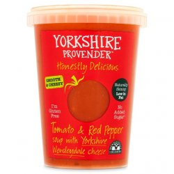 Yorkshire Provender Tomato & Pepper Soup with Wensleydale 600g