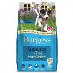 Burgess Supadog Puppy Complete Chicken 12.5KG