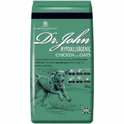 Dr John Hypoallergenic Chicken with Oats 15KG