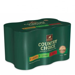 Gelert Country Choice Dog Food Variety Pack 6 x 1200g Tins