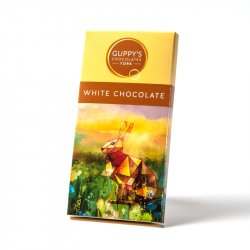 Guppy's White Chocolate Bar 90g