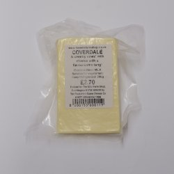 Yorkshire Dales Cheese Co Coverdale Cheese 200g