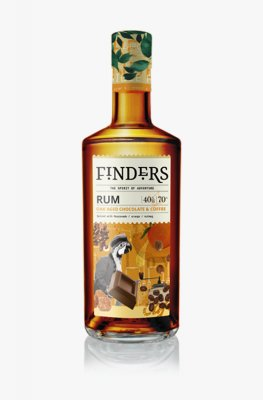 Finders Chocolate & Coffee Spiced Rum 70cl