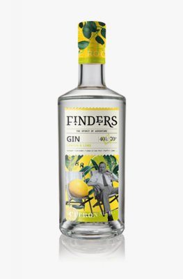 Finders Lemon and Lime Gin 70cl