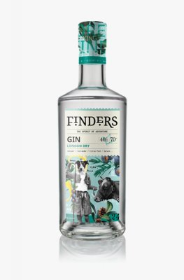 Finders London Dry Gin 70cl