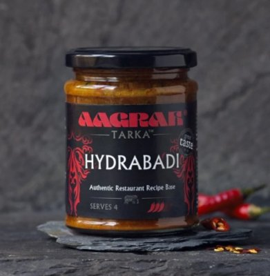Aagrah Hydrabadi Authentic Restaurant Recipe Base 270g