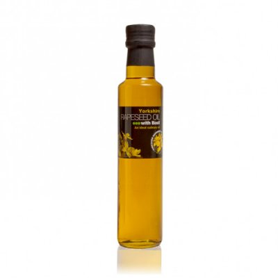 Yorkshire Rapeseed Oil with Basil 250ml