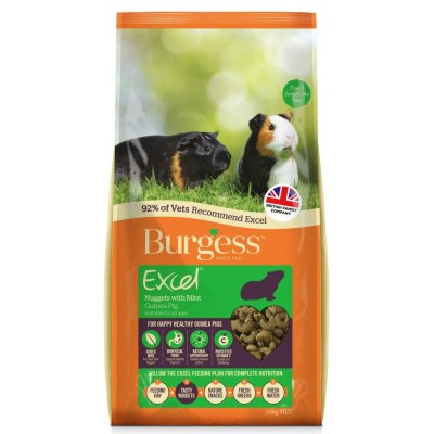 Burgess Excel Guinea Pig Food With Mint