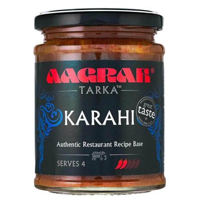 Aagrah Karahi Authentic Restaurant Recipe Base 270g