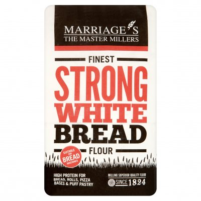 Marriages Strong White Bread Flour 1.5KG